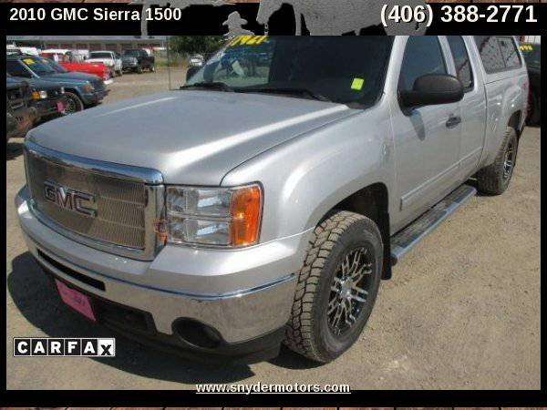 2010 GMC Sierra 1500 SLE 4x4 Super Clean Serviced Every 3k 1 OWNER!