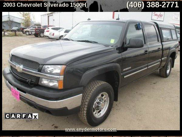 2003 Chevrolet Silverado 1500HD,LEATHER,4X4,6.0L
