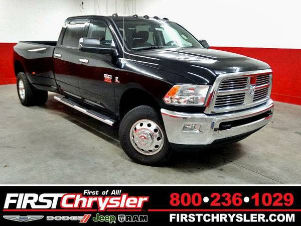2012 *RAM 3500* SLT-4x4-Crew Cab-Big Horn-Long Box-Dually-GPS - RAM...