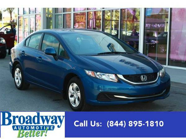 2013 *Honda Civic Sdn* LX Green Bay