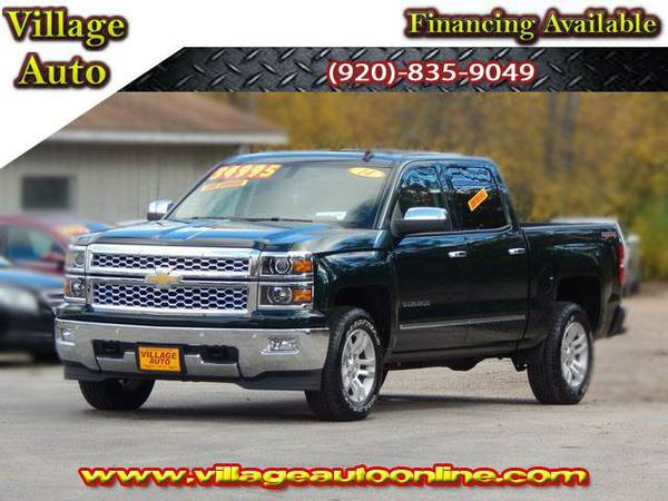 2014 *Chevrolet Silverado 1500* LTZ Crew Cab Short Box 4x4 *One...