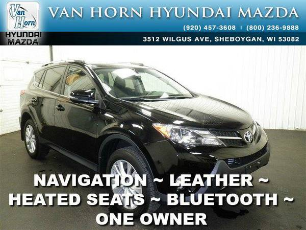 2014 *Toyota RAV4* Limited AWD - Black BAD CREDIT OK!