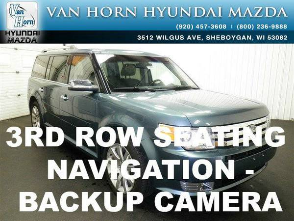 2010 *Ford Flex* Limited - Steel Blue Metallic BAD CREDIT OK!