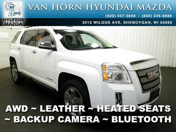 2013 *GMC Terrain* SLT AWD - Summit White BAD CREDIT OK!