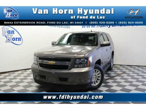 2013 *Chevrolet Tahoe Hybrid* 4x4 - Chevrolet-Financing for Everyone