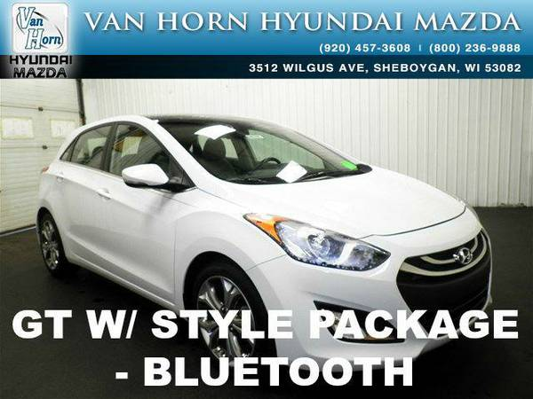 2013 *Hyundai Elantra GT* STYLE PACKAGE - Monaco White BAD CREDIT OK!