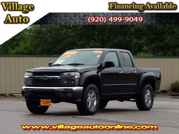 2009 *Chevrolet Colorado* LT Crew Cab Z71 4x4 - Chevrolet Black