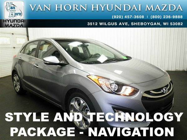 2015 *Hyundai Elantra GT* GT TECH PACK - Titanium Gray Metallic BAD...