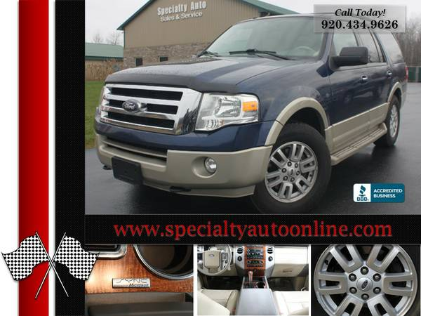 2009 Ford Expedition EDDIE BAUER 4WD SUV! 3rd Row! NEW TIRES! NO RUST!