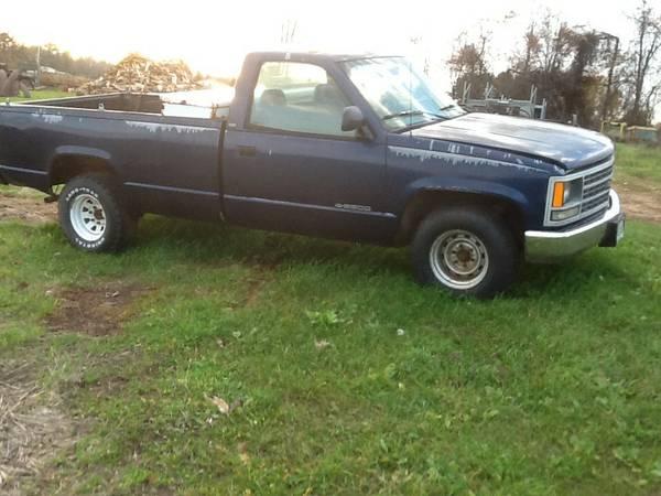 1993 Chevrolet pickup truck Repairable
