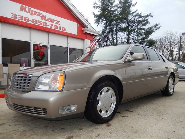 2000 CADILLAC DEVILLE WITH ONLY 114,000 MILES***EXCELLENT CONDITION***