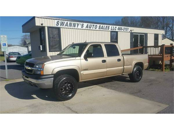 2004 CHEVROLET SILVERADO 2500 4X4 GAS NEW TIRES HEATED SEATS