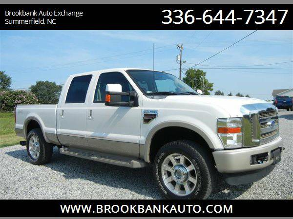 2010 FORD F250 SUPER DUTY KING RANCH