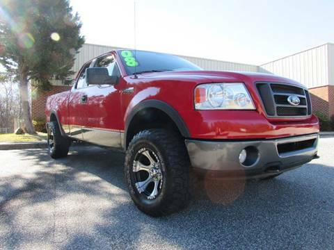 2008 F150 EXTENDED CAB 4X4 FX4
