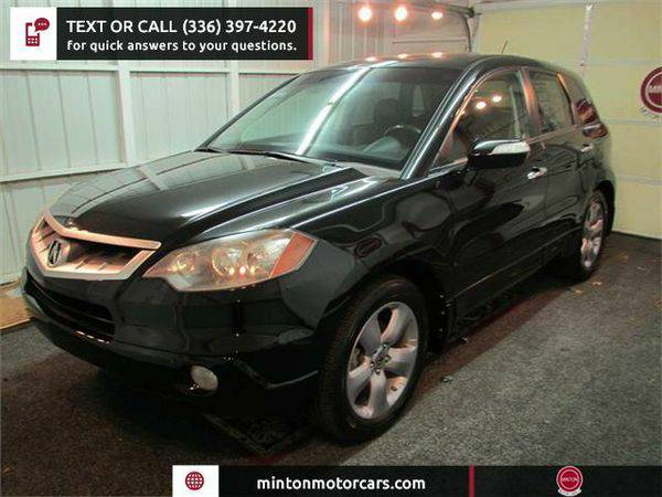 2009 *Acura* *RDX* 5-Spd AT with Technology Package Easiest 1st time b