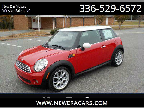 2007 MINI COOPER Low Miles! 89k Miles! 6 speed!, Red