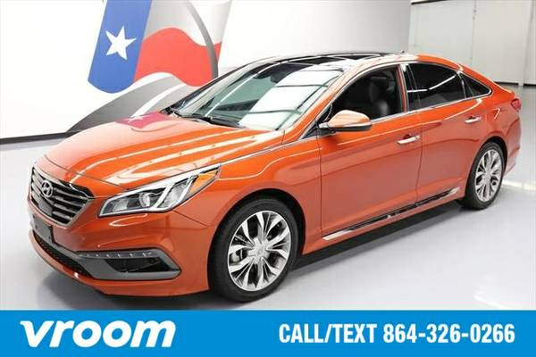 2015 Hyundai Sonata Sport 2.0T 4dr Sedan 7 DAY RETURN / 3000 CARS IN S