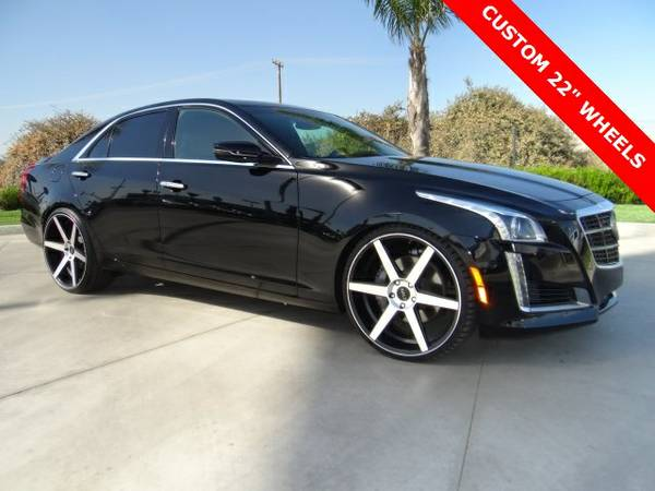 2014 Cadillac CTS 4D Sedan 3.6L Twin Turbo Vsport Premium