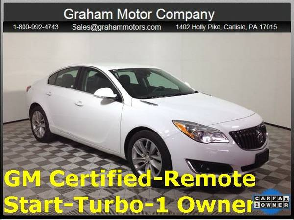 2016 *Buick Regal* Turbo/e-Assist Premium 1 (Summit White)