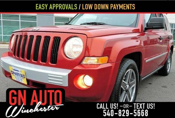 2009 Jeep Patriot Limited 4x4 4dr SUV