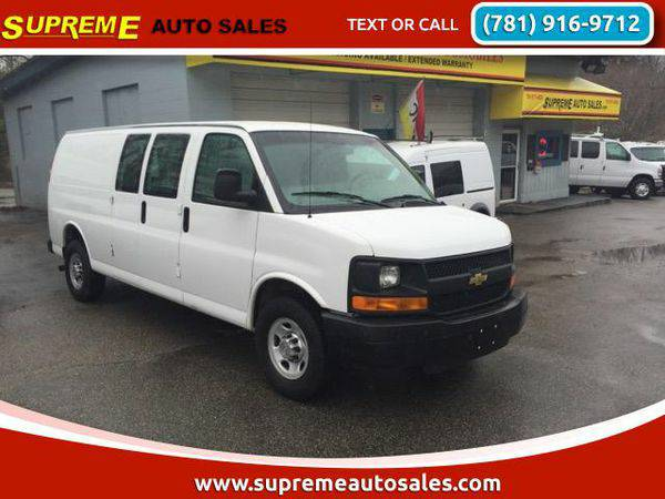 2012 *Chevrolet* *Express* 2500 Cargo Extended CARGO VAN,VANS,DUMP,BOX