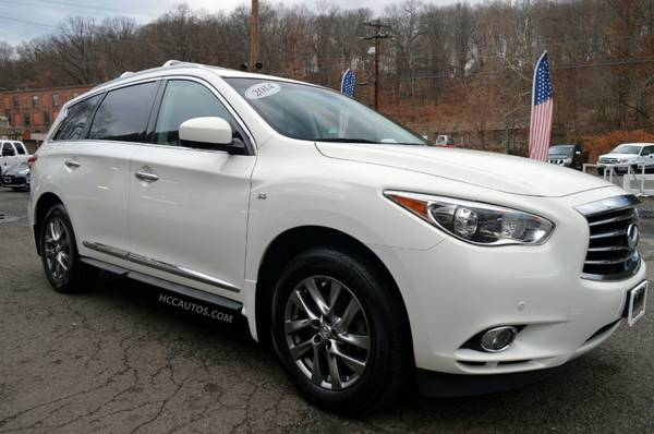 2014 Infiniti QX60* AWD* 1 OWNER* NAV & BACK UP CAM* REAR DVD* LEATHER