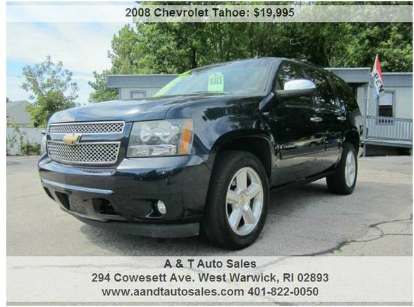2008 Chevy Tahoe LTZ FULLY LOADED REDUCED!!!!