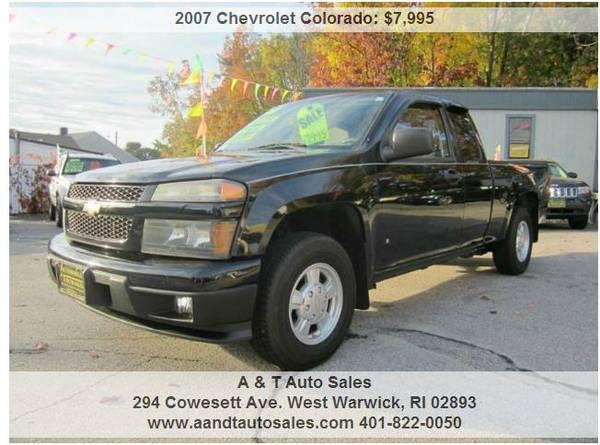 2007 Chevy Colorado Extra Cab LOW MILES