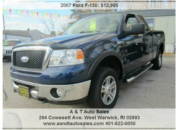 2007 Ford F-150 XLT Ext. Cab 4x4
