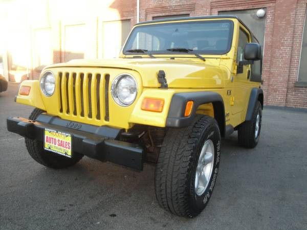 2006 JEEP WRANGLER X 4WD 88K MILES IN EXCELLENT CONDITION