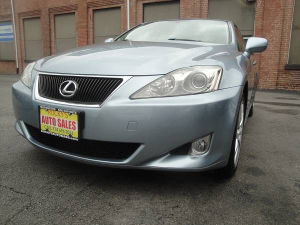 2008 LEXUS IS250 AWD WITH 63K MILES IN EXCELLENT CONDITION