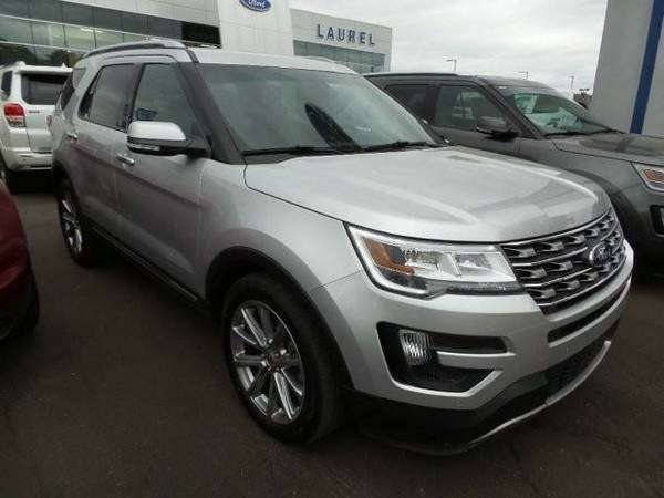 2016 *Ford Explorer* Limited (SILVER)