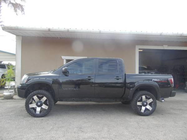 *****LIFTED 2005 NISSAN TITAN PRO-4X OFF ROAD CREW CAB 4WD*****