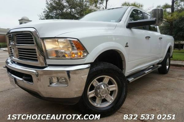 2012 Ram 2500 4WD Crew Cab Laramie CAMERA NAVI COOLED SEATS LIKE NEW