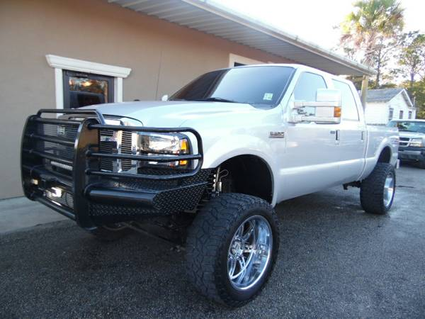 ***LIFTED 2006 FORD F250 SUPERDUTY POWER STROKE DIESEL CREW CAB FX4***