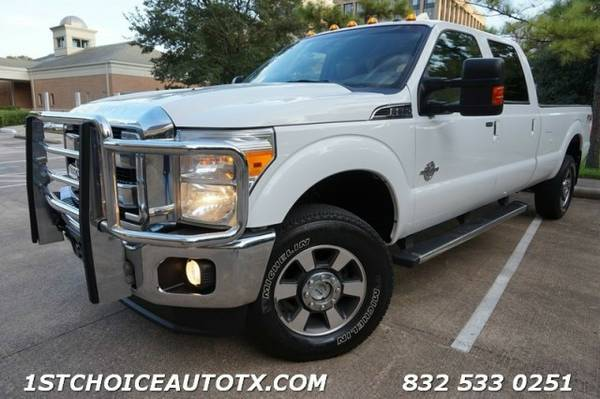 2012 Ford Super Duty F350 F250 SRW LARIAT 4WD 6.7 DIESEL CAMERA NAVI
