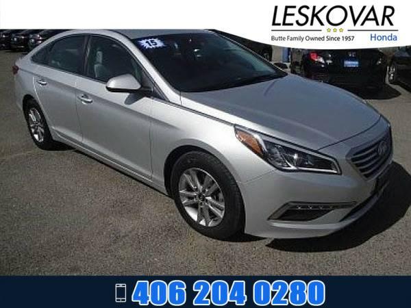 *2015* *Hyundai Sonata* *4dr Car 2.4L SE* *Silver*