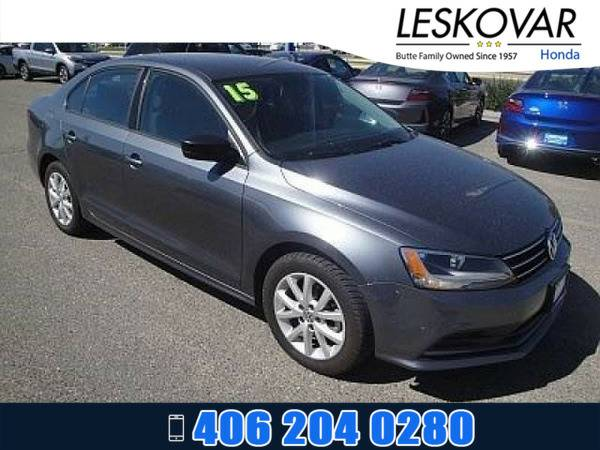 *2015* *Volkswagen VW Jetta* *4dr Car 1.8T SE* *MEDIUM GRAY*