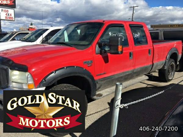 2002 FORD F-350 SD LARIAT 4X4 DIESEL- MUST SEE AND DRIVE-- GREAT...