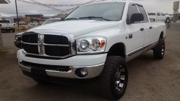 5.9 MANUAL DIESEL!! 2007 Dodge Ram 2500 QC LB 4x4 $2000GT $355/mo OAC!