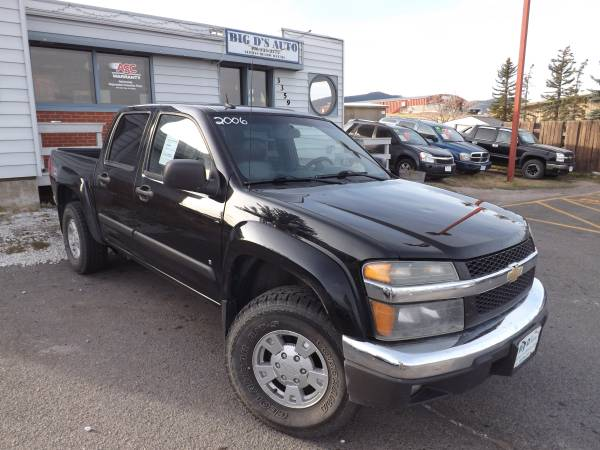 2006 CHEVROLET COLORADO LT Z-71 4X4 CREW