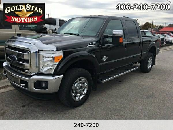 2012 FORD F-350 SD LARIAT 4X4 DIESEL- 49K MILES-- ON SITE FINANCE- WE