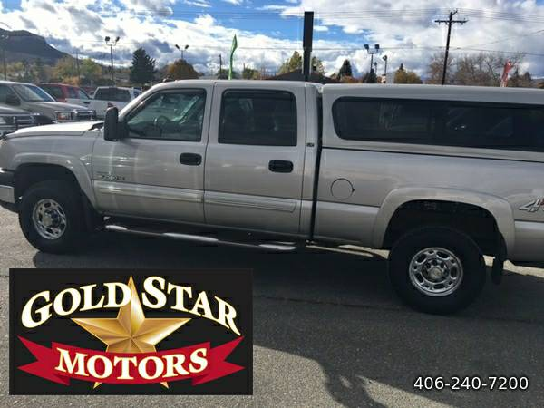 2007 CHEVROLET SILVERADO 2500HD DURAMAX CREWCAB-- VERY NICE CONDITION!
