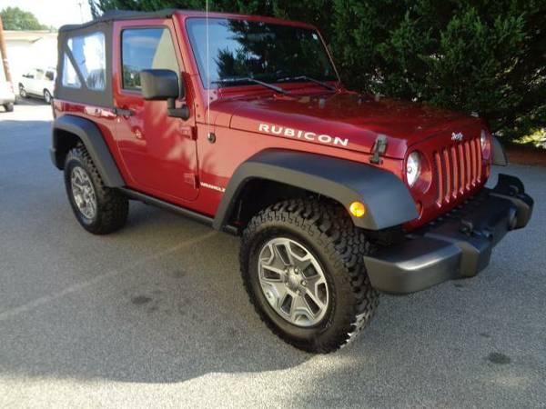 2013 Jeep Wrangler Rubicon 4x4 6spd*$249 pmt*WE FINANCE!*