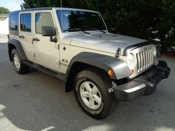 2007 JEEP WRANGLER UNLIMITED 4WD~WARRANTY!