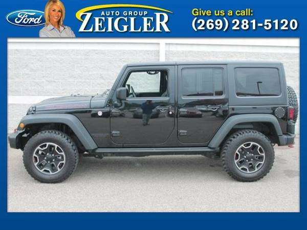 2014 Jeep Wrangler Unlimited Rubicon X SUV Wrangler Unlimited Jeep