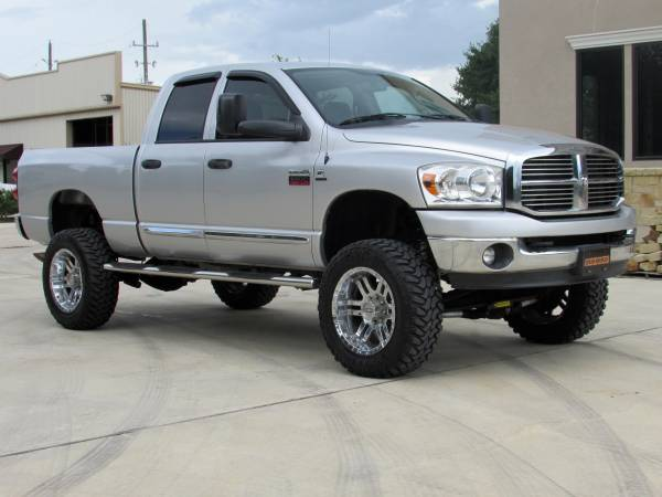 2009 Dodge Ram 2500 SLT Lone Star Quad 4X4 6.7L Cummins Diesel LIFTED