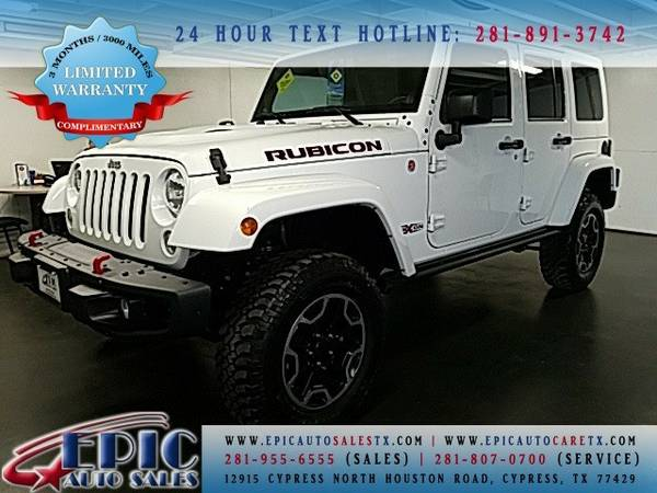2014 Jeep Wrangler Unlimited Rubicon This has a FREE Warranty @@@@@@