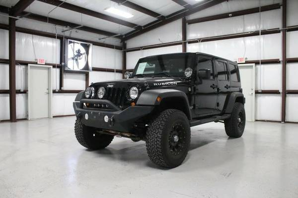 2012 Jeep Wrangler Unlimited Rubicon, We Finance all Credit Types