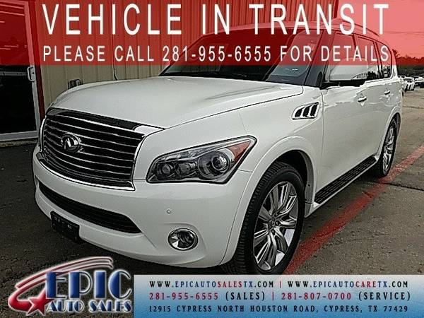 2012 Infiniti QX56 Base This has a FREE Warranty @@@@@@